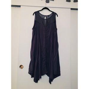 Torrid purple/gray dress